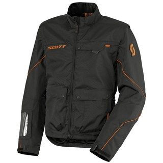 Moto Jacket Scott Adventure 2 - black-orange