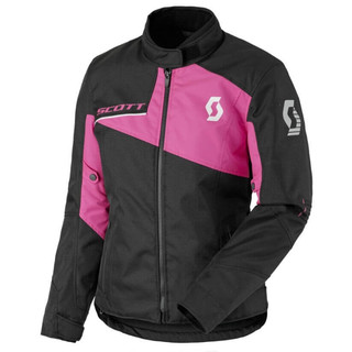 Women's Moto Jacket SCOTT W's Sport DP - Black-Neon Pink