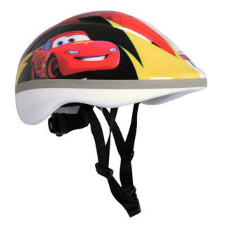 Disney Cars Children's Bike Helmet - Yellow-Red