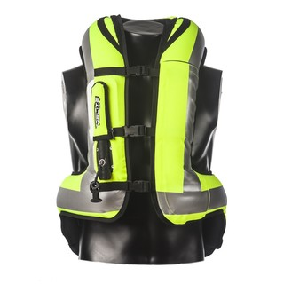 Airbag Vest Helite Turtle - HiVis Yellow