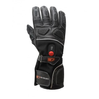 Heated Moto Gloves 30 SEVEN - Black