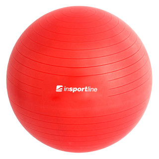 Gymnastic ball inSPORTline Top Ball 75 cm - Red