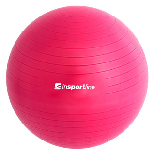 Gymnastic ball inSPORTline Top Ball 55 cm - Purple