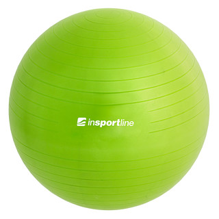 Gymnastic ball inSPORTline Top Ball 65 cm - Green