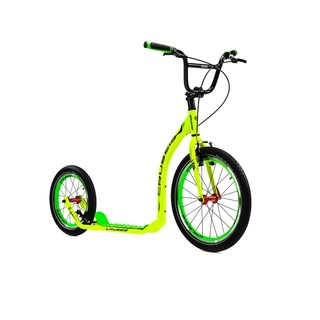 Kick Scooter Crussis Active 4.1 Yellow-Green