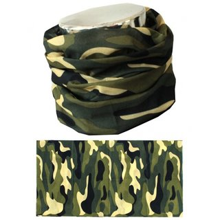 Neck Warmer MTHDR Scarf Green Camo