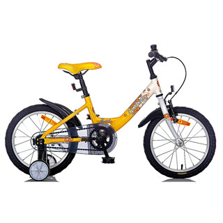 "Kid's bike Galaxy Tauri 16"" - model 2014 - Yellow"
