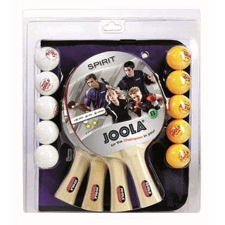 Table Tennis Set Joola Family – 4 rackets, 10 balls