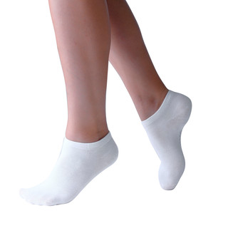 Low Ankle Socks Bamboo - White