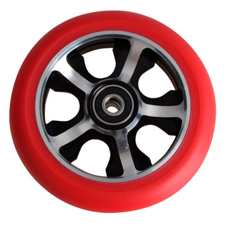 Spare wheel for scooter FOX PRO Judge 110 mm - Red