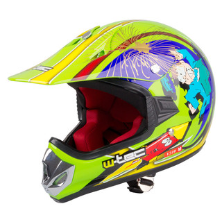 Junior motorcycle helmet W-TEC V310 - Ghost Dot