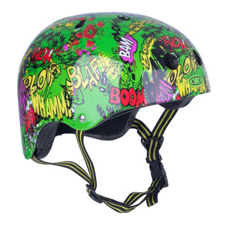 Freestyle helmet for children WORKER Komik - Green