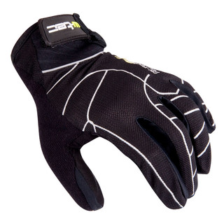 Motocross Gloves W-TEC Binar - Black