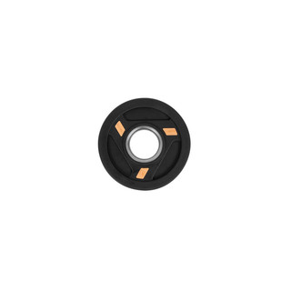 Olympic Rubber Coated Weight Plate inSPORTline Herk 1.25kg