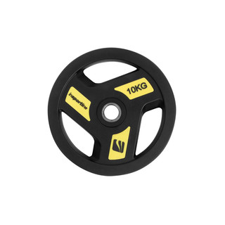 Rubber Coated Weight Plate inSPORTline Herk 10kg