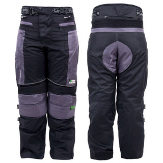 Moto Trousers W-TEC Foibos TWG-102 - Black-Grey