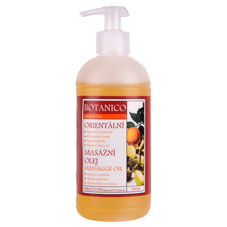 Oriental massage oil Botanico 500 ml