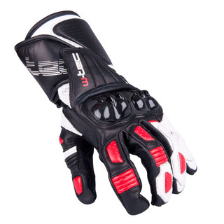 Men's Moto Gloves W-TEC Decane - Red