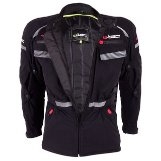 Men's Moto Jacket W-TEC Sokar - Black