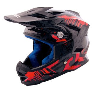 Children's Downhill Helmet W-TEC AP-42 - Grey-Red