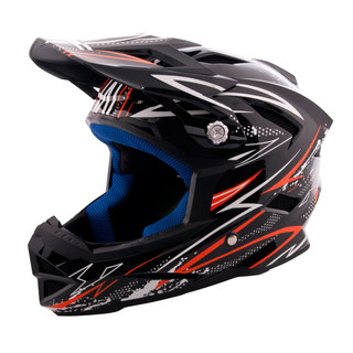 Downhill Helmet W-TEC AP-42 - black-orange