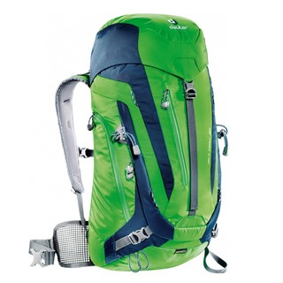 Tourist Backpack DEUTER ACT Trail 30 2016 - green- blue