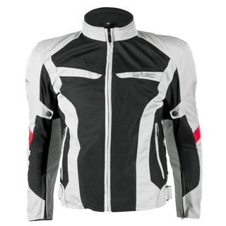 Men's Moto Jacket W-TEC Ventex - Light Grey