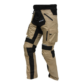 Motorcycle Trousers Spark Dakar - Sand-Black