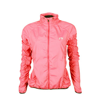 Women's sports cagoule Newline Imotion ruffle - Pink