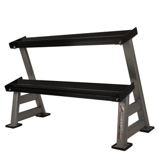 Two layers dumbbell rack inSPORTline Profirack