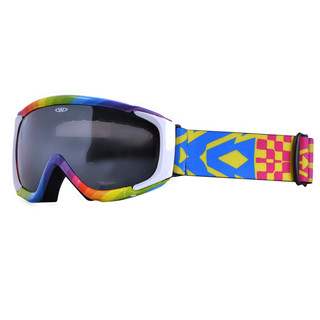 Ski goggles WORKER Gordon with graphic - Rainbow-Coloured Graphics