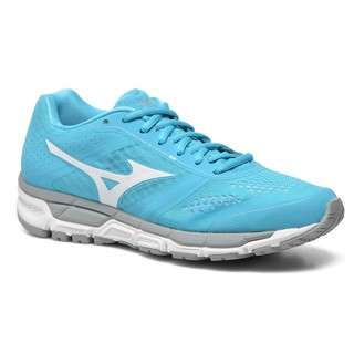 Women's Running Shoes Mizuno Synchro MX - BlueAtoll/White/Silver