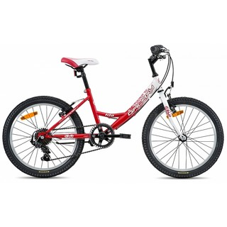 "Kid's girls bike Galaxy Ida 20"" - model 2015 - red/white"