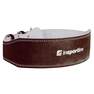 Leather Weightlifting Belt inSPORTline NF-9054 - Brown