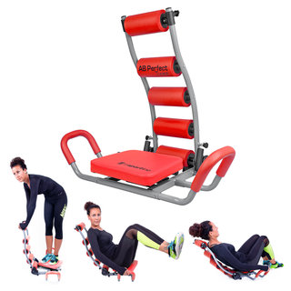 Ab Trainer inSPORTline AB Perfect Twist - Red