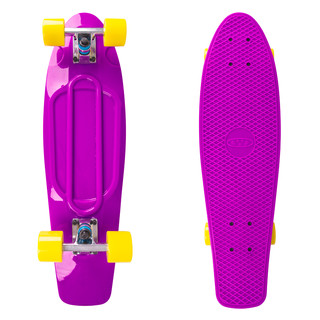 Plastic Pennyboard WORKER Blace 27ʺ - Purple