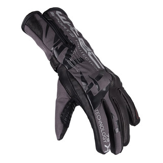 Motorcycle Gloves W-TEC Kaltman - Black-Grey