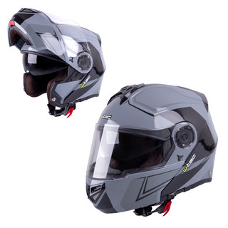 Motorcycle Helmet W-TEC Vexamo - Black-Grey