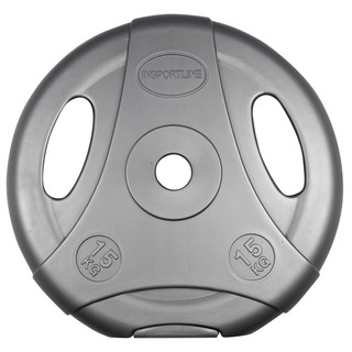Cement Weight Plate inSPORTline Ergo 15 kg Grey