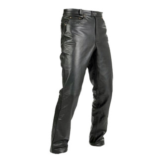 Leather moto pants Spark Jeans