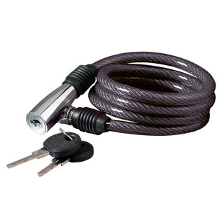 Spiral cable lock KELLYS K-1026S - Black