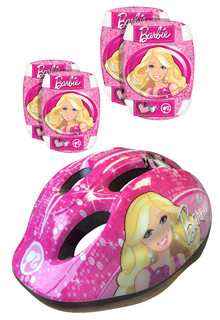 Protector Set and Helmet Barbie