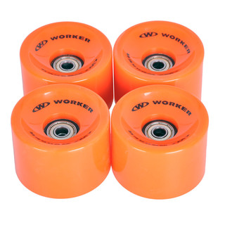 Wheels for longboard 70*51mm with Bering ABEC 7 – 4 pcs