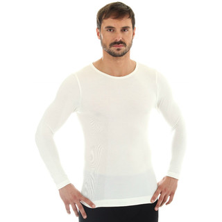 Men's T-shirt Brubeck - long sleeve - Creamy White