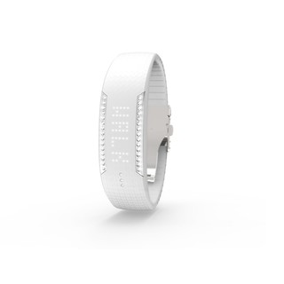 Women's Fitness Bracelet POLAR LOOP Crystal - White