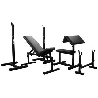 Bench under the dumbbell to home gym