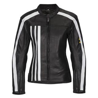 0668c67fd Women's Leather Moto Jacket W-TEC NF-1173 - Black-White
