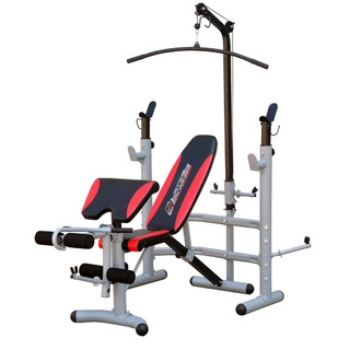 Multi-Function Bench inSPORTline Bastet + Weights + Lifting Bar