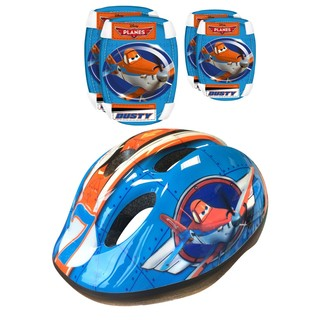 Disney Planes Set – Helmet + Elbow and Knee Protectors