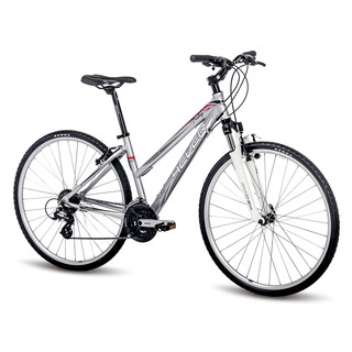 "Women's Cross Bike 4EVER Prestige 28"" – 2016 - Silver"